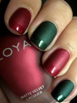 Gorgeous christmas nails ideas 84