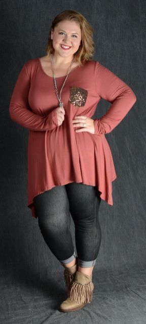 Inspiring winter outfits for plus size 1