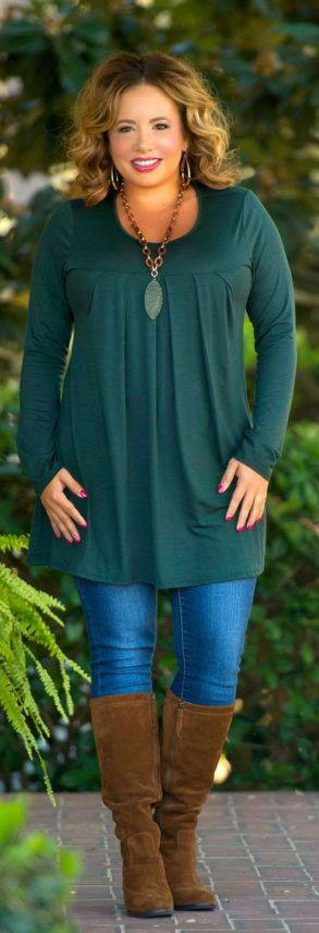 Inspiring winter outfits for plus size 15