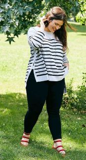 Inspiring winter outfits for plus size 20