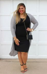 Inspiring winter outfits for plus size 23