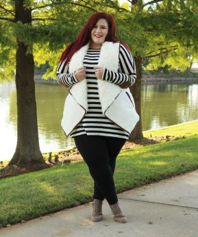 Inspiring winter outfits for plus size 33