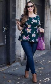 Inspiring winter outfits for plus size 36
