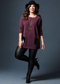 Inspiring winter outfits for plus size 37