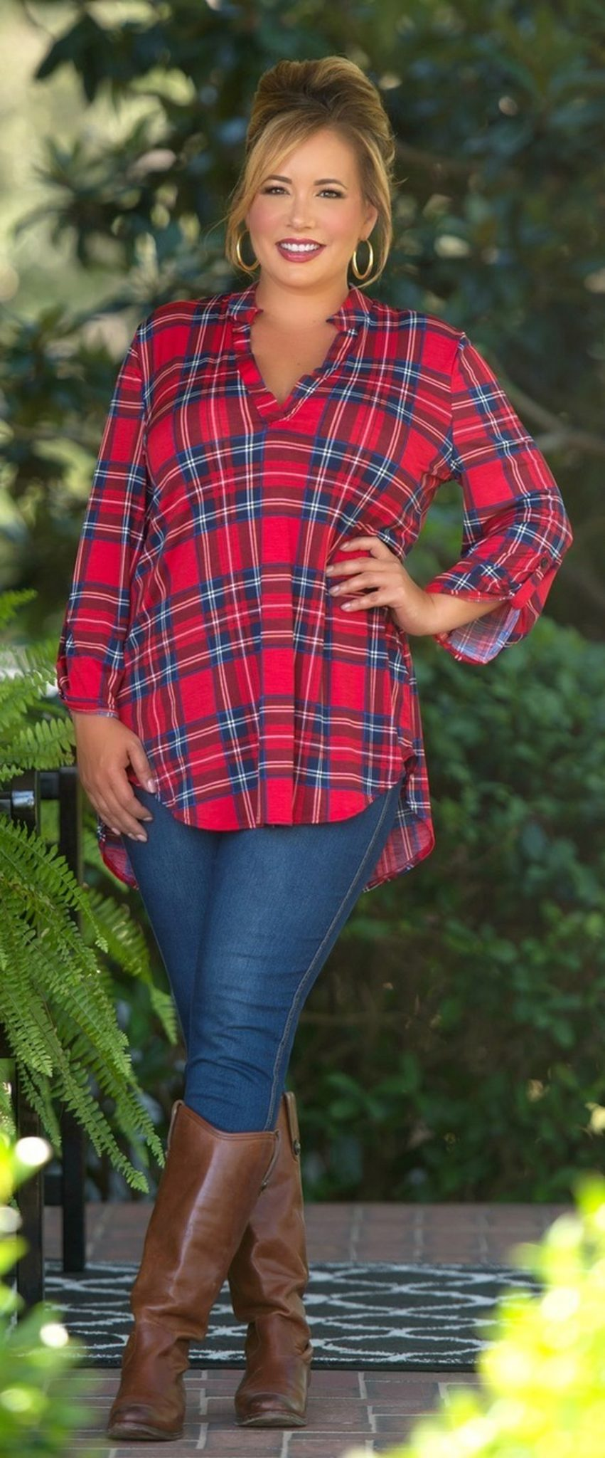 Inspiring winter outfits for plus size 40