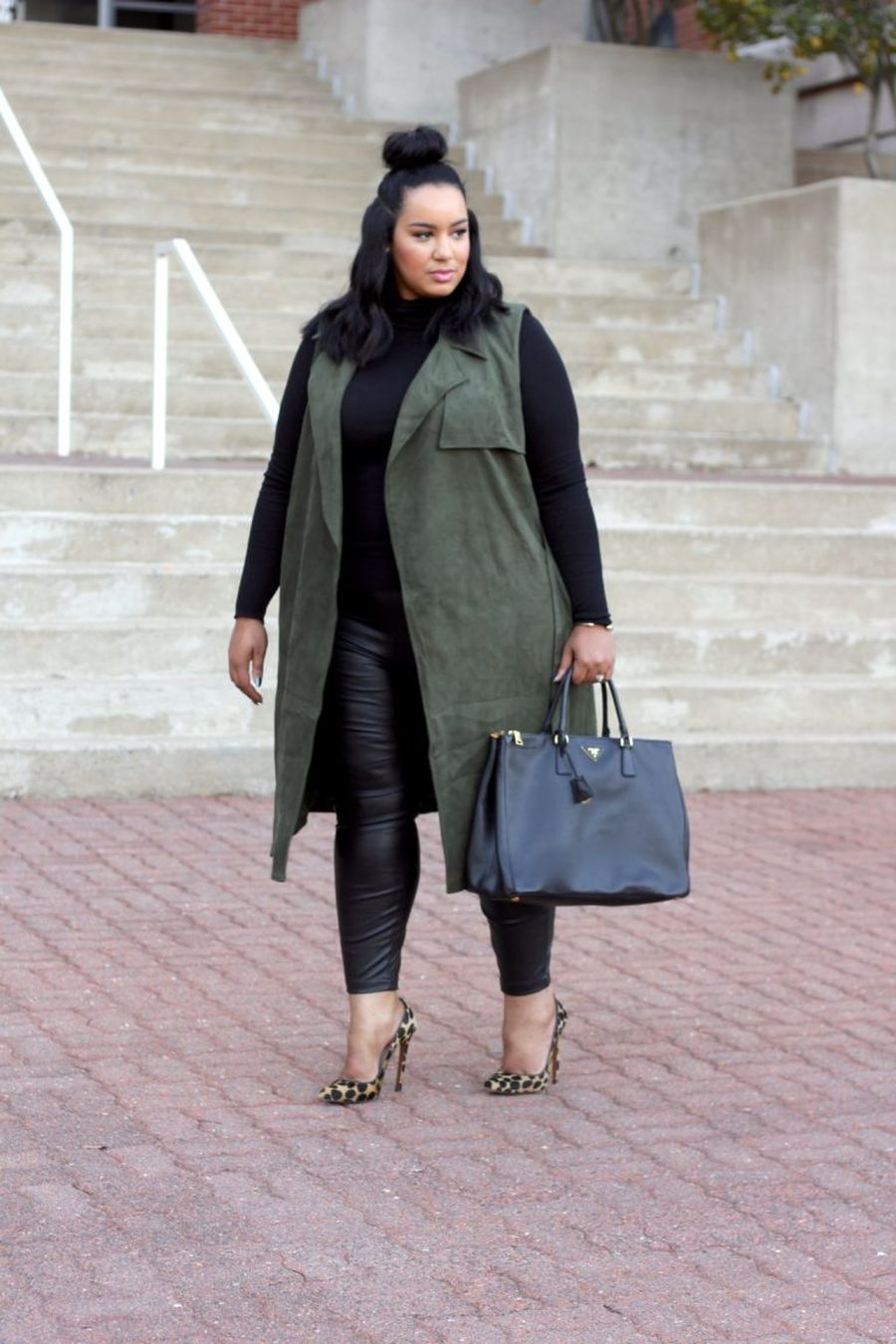 Inspiring winter outfits for plus size 54