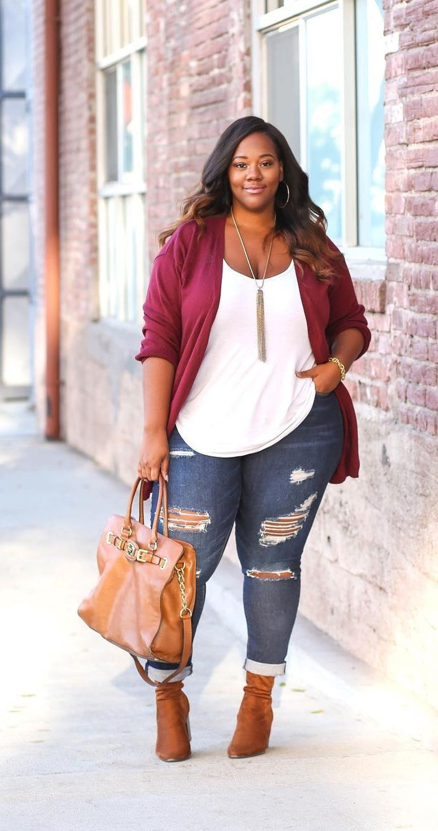 Inspiring winter outfits for plus size 58