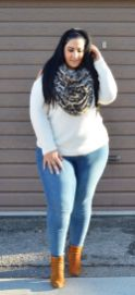 Inspiring winter outfits for plus size 64