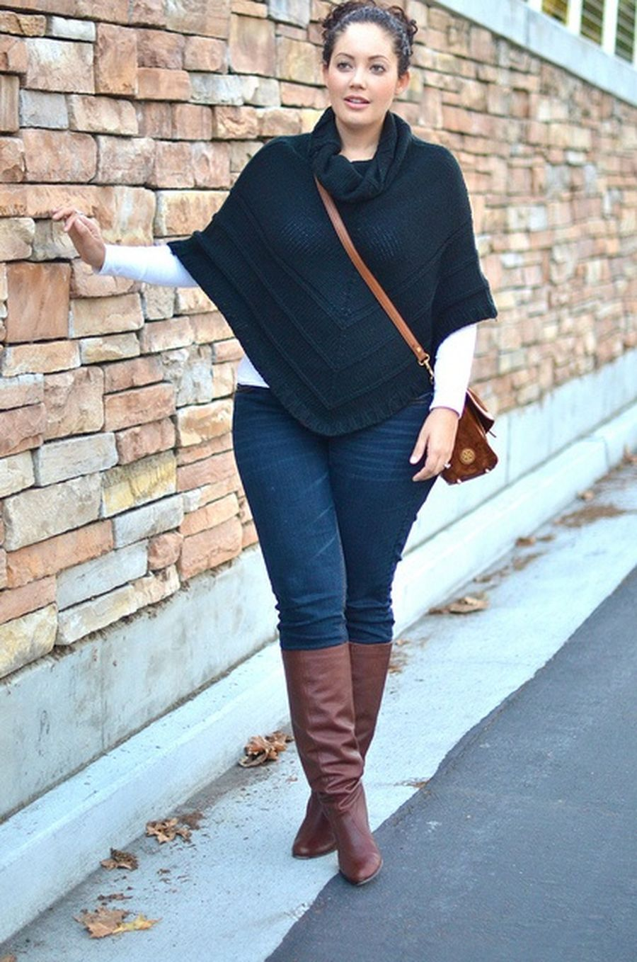 Inspiring winter outfits for plus size 9