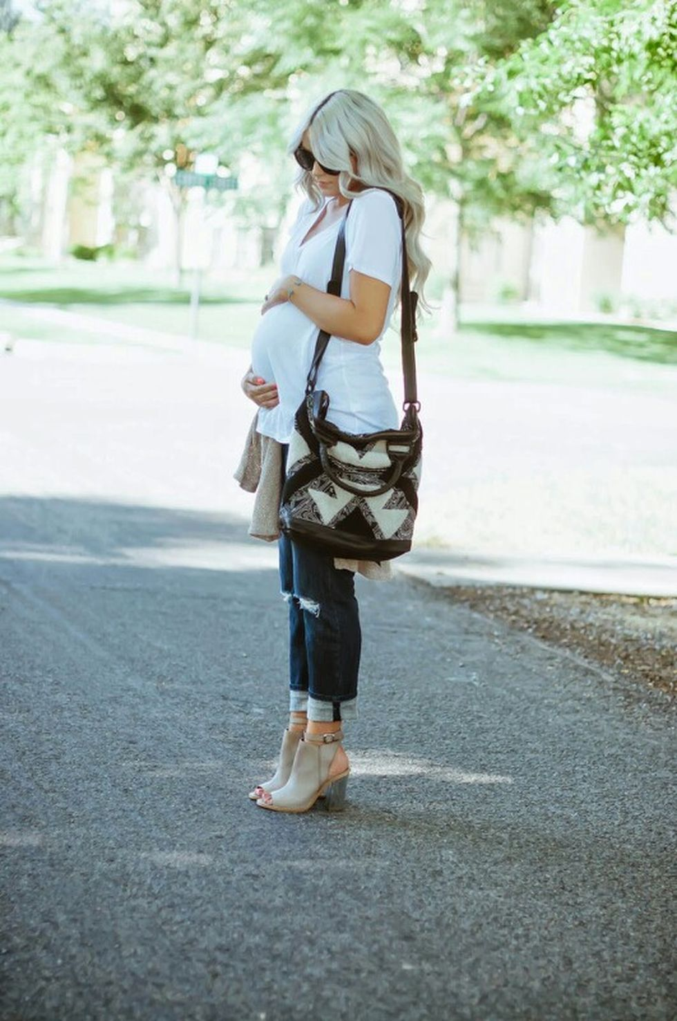 Maternity fashions outfits for fall and winter 4