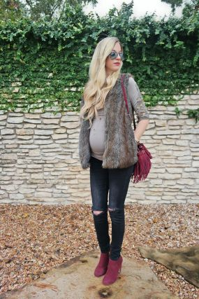 Maternity fashions outfits for fall and winter 49