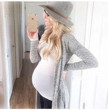 Maternity fashions outfits for fall and winter 55