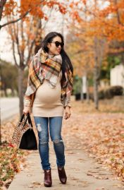 Maternity fashions outfits for fall and winter 74