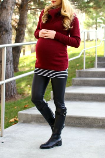 Maternity fashions outfits for fall and winter 95