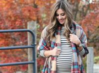 Maternity outfits for fall and winter