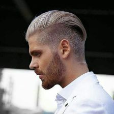 Men classy modern pompadour hairstyle 48