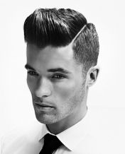 Men classy modern pompadour hairstyle 61