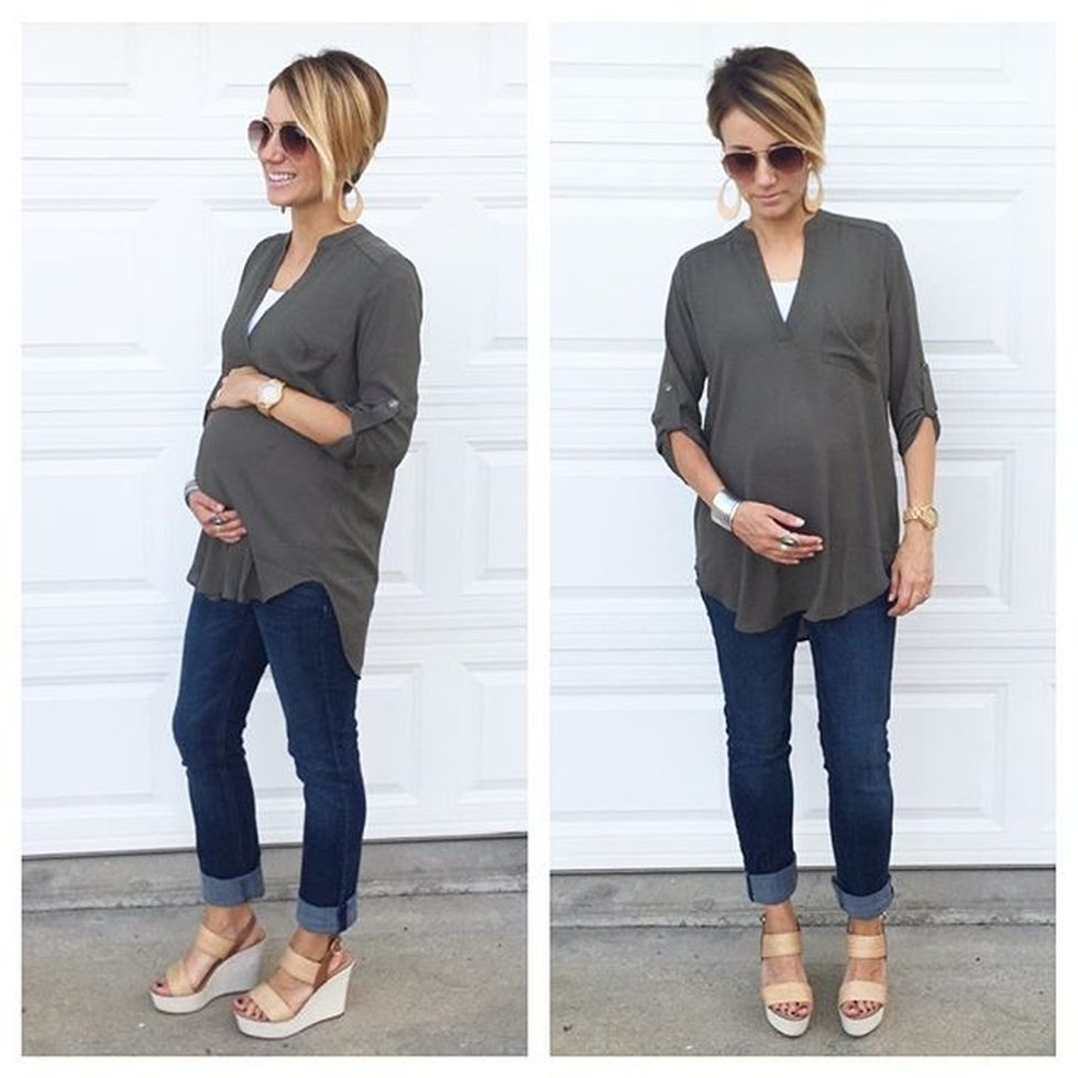 Short haircuts ideas for pregnant 38