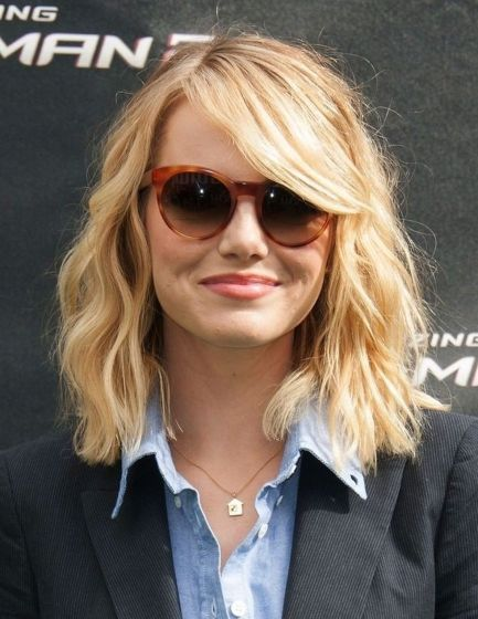 Stylish blonde lobs haircut ideas 10