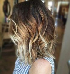 Stylish blonde lobs haircut ideas 39