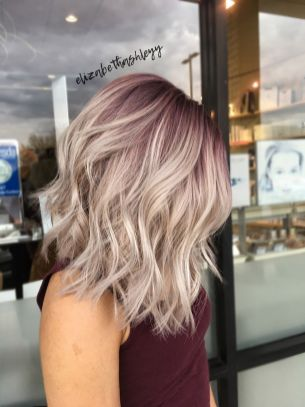 Stylish blonde lobs haircut ideas 64