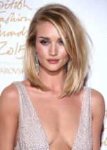 Stylish blonde lobs haircut ideas 7