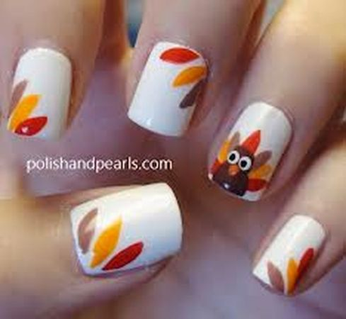 Swag thanksgiving nails art 1