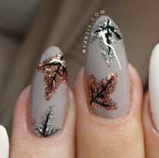 Swag thanksgiving nails art 26