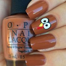 Swag thanksgiving nails art 4