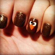 Swag thanksgiving nails art 7