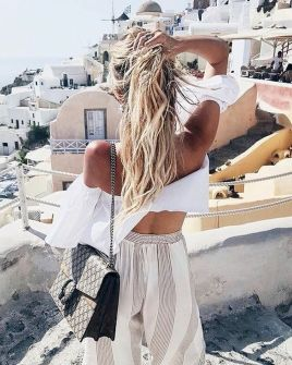 Boho dress for holiday and vacation outfits 35