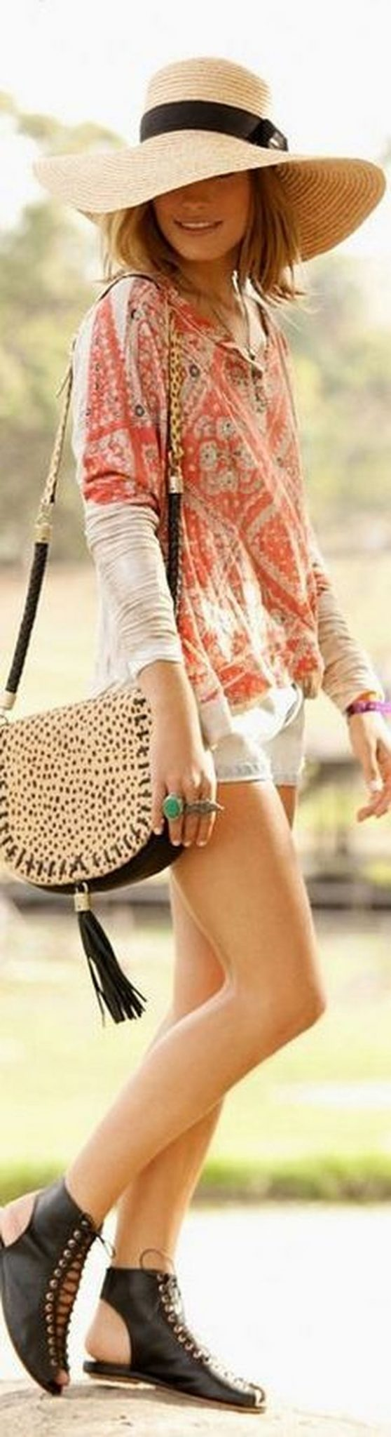 Boho dress for holiday and vacation outfits 43