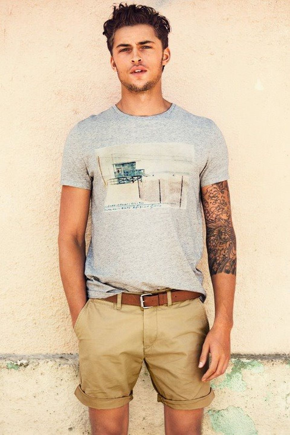 Casual indie mens fashion outfits style 11