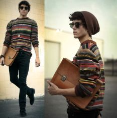 Casual indie mens fashion outfits style 12
