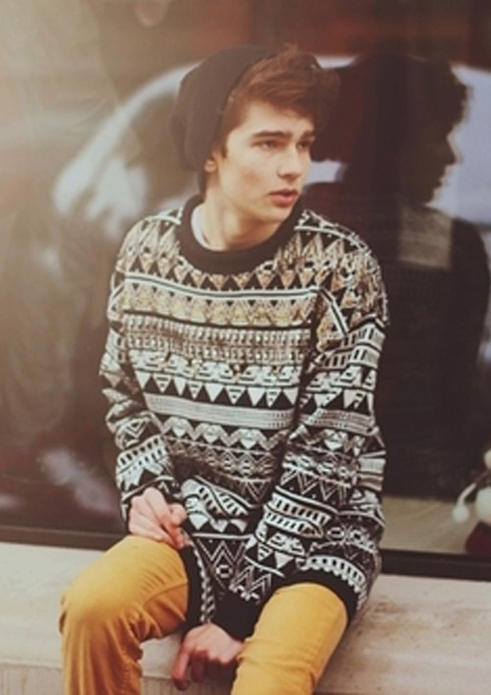 Casual indie mens fashion outfits style 16