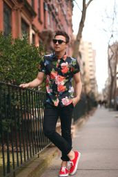 Casual indie mens fashion outfits style 17