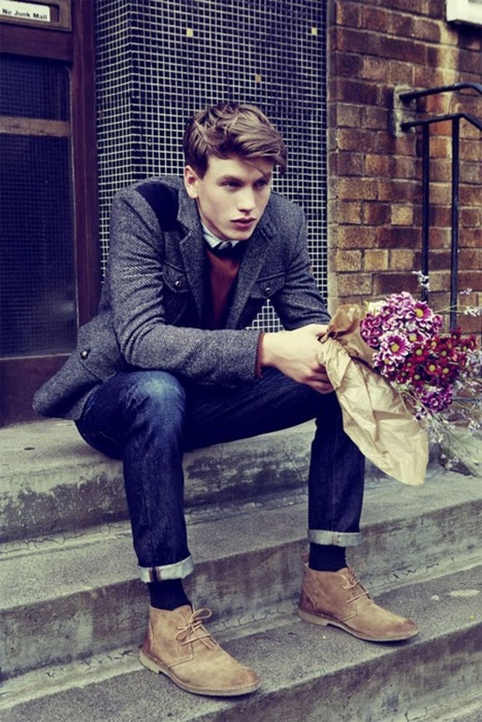 Casual indie mens fashion outfits style 25