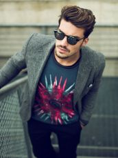 Casual indie mens fashion outfits style 35