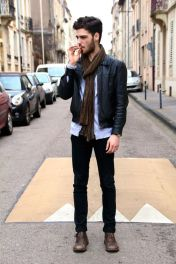Casual indie mens fashion outfits style 7