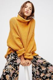 Fashionable oversized sweater for winter outfit 36