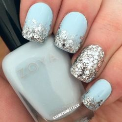 Pretty winter nails art design inspirations 12
