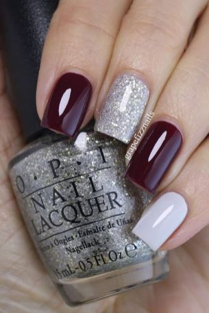 Pretty winter nails art design inspirations 19