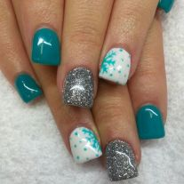 Pretty winter nails art design inspirations 52