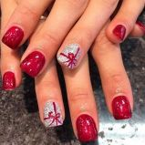 Pretty winter nails art design inspirations 75
