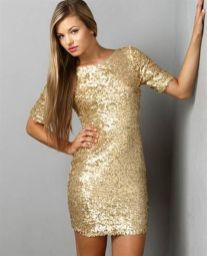 Sequin dress for new year eve party and night out 22