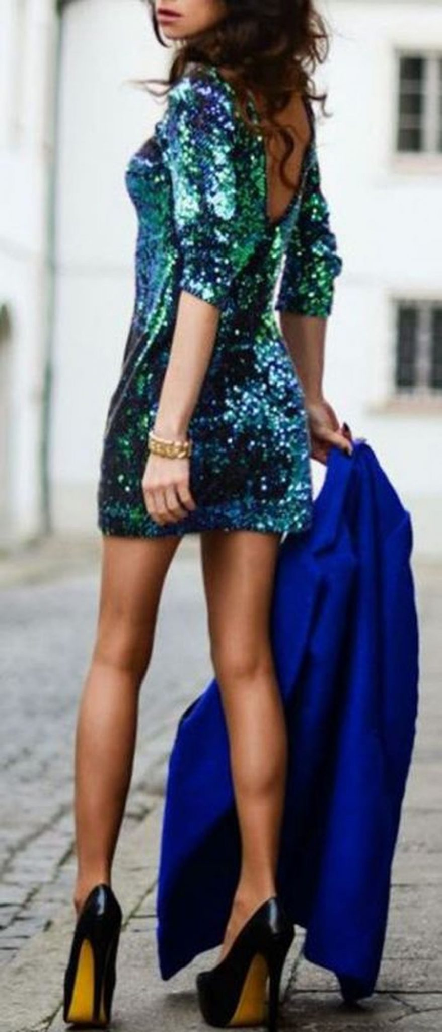Sequin dress for new year eve party and night out 31