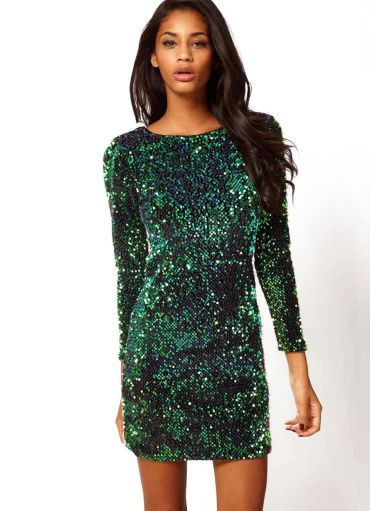 Sequin dress for new year eve party and night out 51