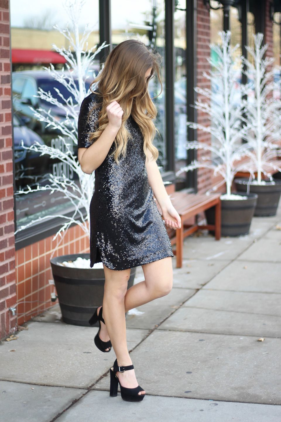 Sequin dress for new year eve party and night out 67