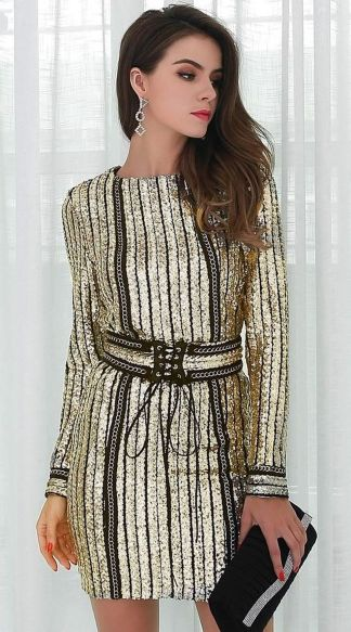 Sequin dress for new year eve party and night out 91