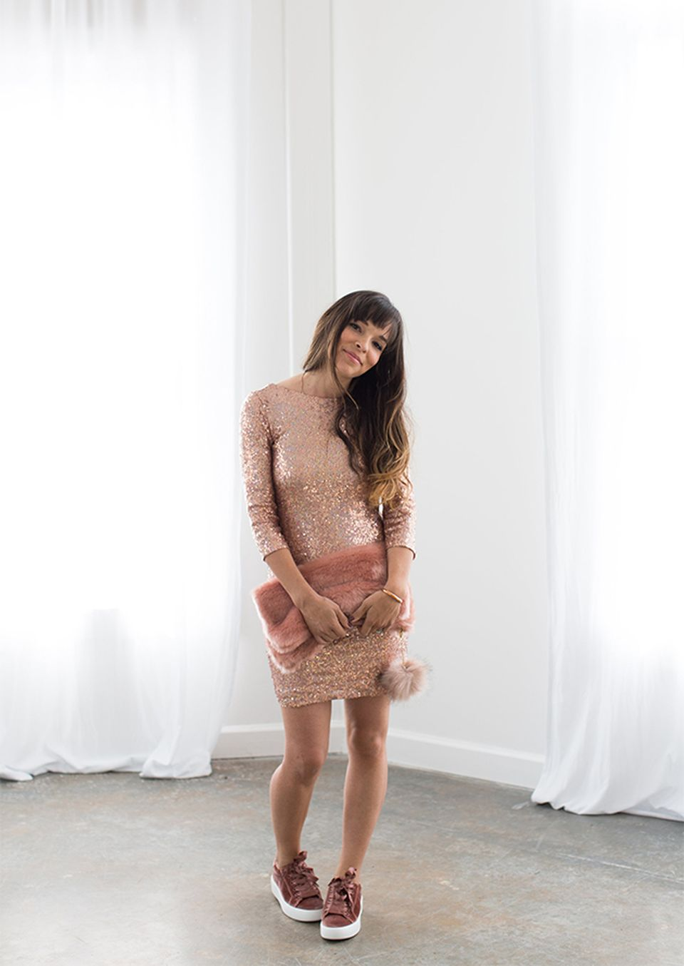 Sequin dress for new year eve party and night out 97